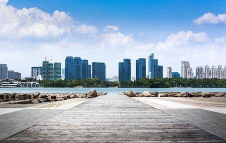 The beautiful cityscape