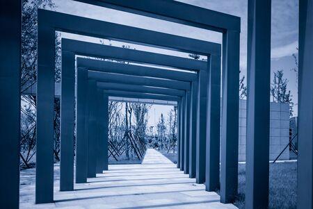 Passageway at park 免版税图像