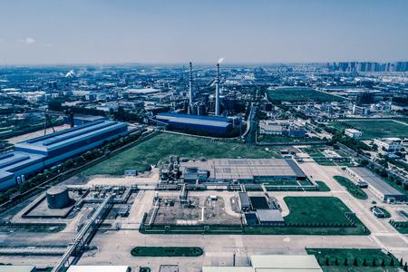 Oil Industry Refinery factory , Petroleum, petrochemical plant Foto de archivo