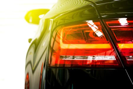 Back light sports car