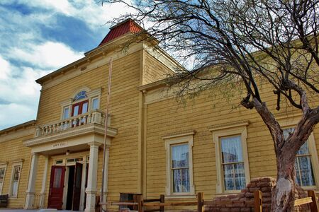 old west: Old West Town Hall