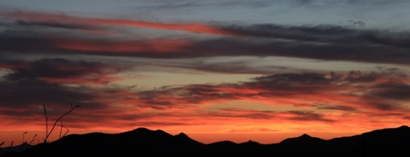 arizona sunset: Tucson Arizona Sunset