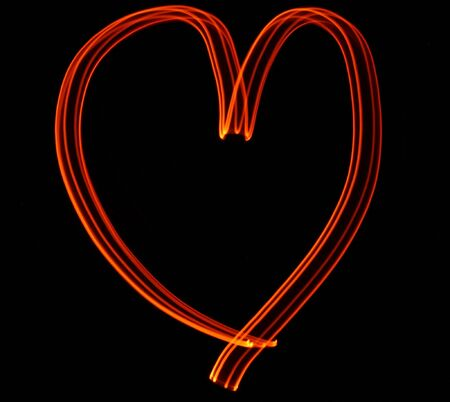 light painting: Light Painting with Love