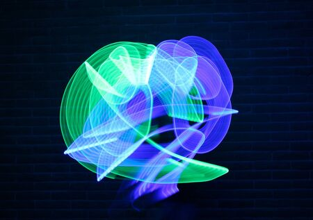 painting: Abstract Light Painting