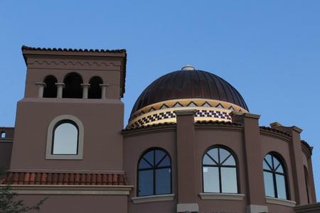 public building: Public Building with Traditional Southwest Architecture