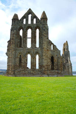whitby: Abbey at Whitby Stock Photo
