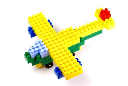 anybody: an aeroplane out of toy building blocks