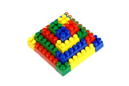 anybody: a pyramid out of toy building blocks