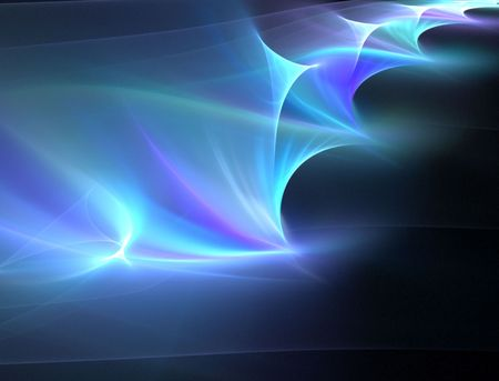 Soft, glowing hues of colors, span and stretch out across this beautiful fractal abstract. Stock Photo - 980888