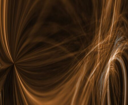 Dramatic and blurred, hues of brown flows in waves in this fractal abstract pattern. Stock Photo - 983128