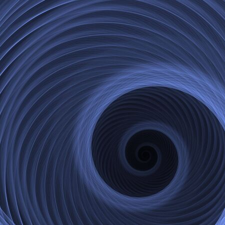softly: Softly colored, layered spiral (computer generated, fractal abstract background) Stock Photo