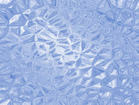 crinkle: Rough crinkle effect blue (computer generated, fractal abstract background)