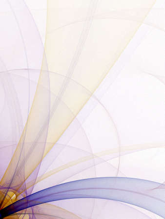 sheer: Sheer colorful tubes (computer generated, fractal abstract background)