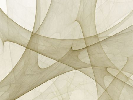 sheer: Neutral colored, softly blurred sheer design (computer generated, fractal abstract background)