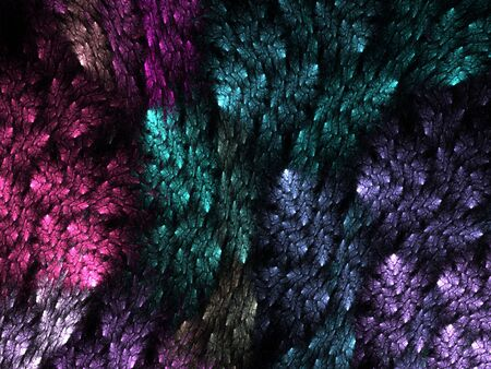 vivid colors: Bright vivid colors in rough texture (computer generated, fractal abstract background) Stock Photo