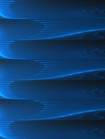 streak: Futuristic blue streak design (computer generated, fractal abstract background)