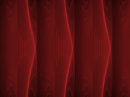 hues: Deep hues of red layers (computer generated, fractal abstract background) Stock Photo