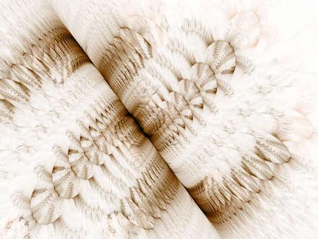 色を折りスプリット効果 (コンピューター生成、フラクタルの抽象的な背景) 写真素材