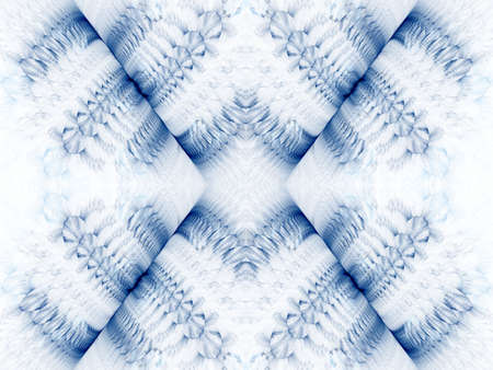 splitting: Gray blue textures with splitting illusion (computer generated, fractal abstract background)