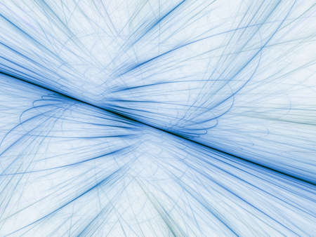 sheer: Sheer blue threads effect (computer generated, fractal abstract background)
