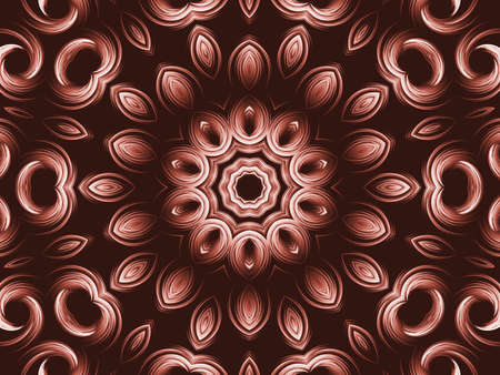 petal: Kaleidoscopic, textured petal shapes (computer generated, fractal abstract background)