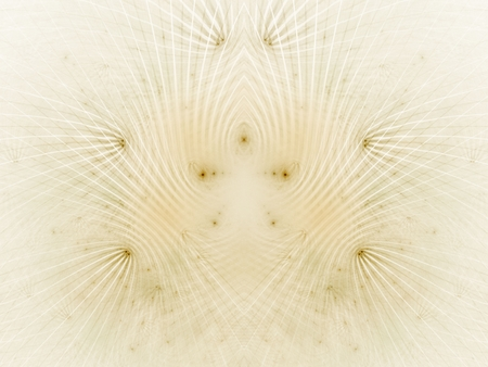 emboss: Sand colored curving track lines with specks (computer generated, fractal abstract background)