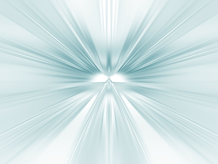 Sheer, rippling blue green texture (computer generated, digital abstract background)