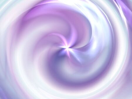 Bright pastel swirl (computer generated, fractal abstract background) photo
