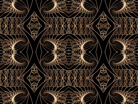 threaded: Threaded weave, ornate pattern (computer generated, fractal abstract background)
