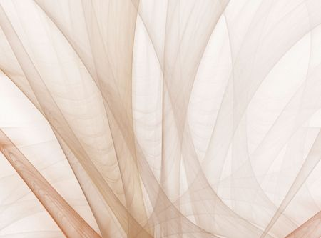 sheer: Hazy layers of sheer flowing texture (computer generated, fractal abstract background)