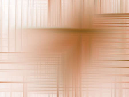 Soft brown woven streaks (computer generated, digital abstract background) Stock Photo - 1978964