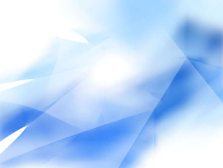 Layered blue texture angles (computer generated, fractal abstract background)
