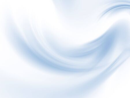 Soft, rippling blues (computer generated, fractal abstract background)