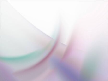 Layered pastel smudges (computer generated, fractal abstract background) Stock Photo