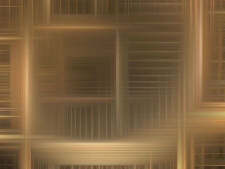 Brown woven design (computer generated, digital abstract background) 免版税图像