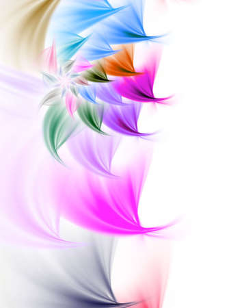 petal: Multicolor petal spiral Stock Photo