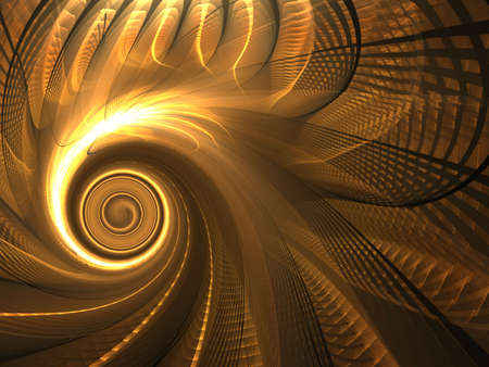 spinning: Golden spinning weave design