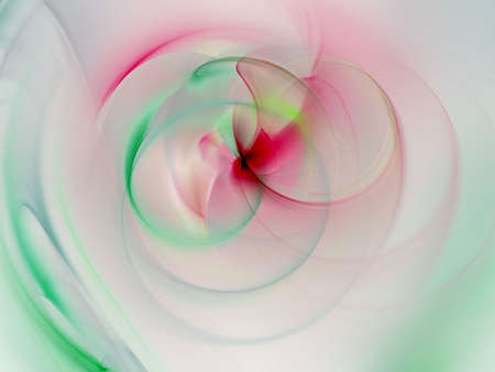 spinning: Soft pastels, spinning and blending Stock Photo