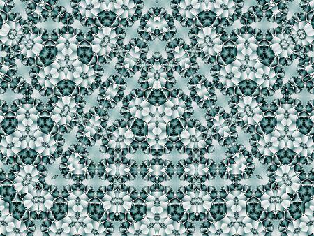Kaleidoscopic design angulaire illusion (générés par ordinateur, fractal abstract background) Banque d'images - 2512071
