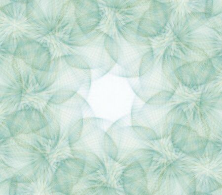 fibrous: Textured, translucent green fibrous pattern  - fractal abstract background