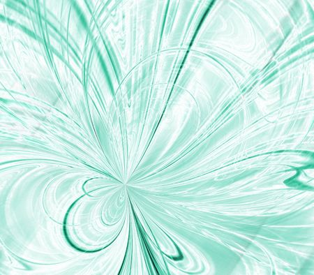 minty: Minty green colored, thread textures - fractal abstract background