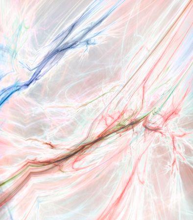 marbled effect: El rojo y el azul pastel texturas, efectos de m�rmol - fractal resumen de antecedentes