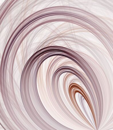 looping: Looping colorful ribbons - fractal abstract background