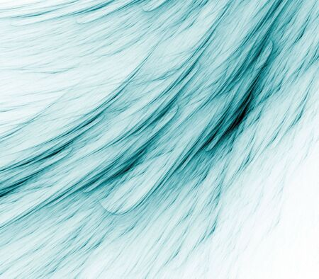fibrous: Flowing, fibrous teal green textures - fractal abstract background