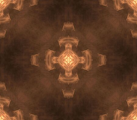 Seamless, geometric cross effect - fractal abstract background photo