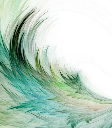 Vezel, bit map patronen met kopie ruimte - fractale abstracte achtergrond stroomt