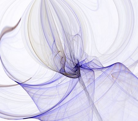 fibrous: Flowing fibrous textures in motion - fractal abstract background