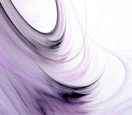 Stromende lavendelkleurige in zijde fiber patronen met kopie ruimte - fractale abstracte achtergrond