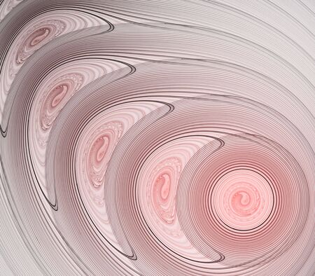 centers: Artistic Abstract Background - Layered soft pink circles design with swirl centers