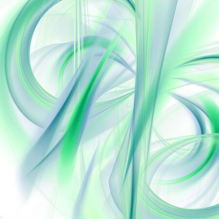 smudge: Abstract Background - Soft smudge shapes and fiber textures collage in blue and green against white
